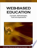Web Based Education Concepts Methodologies Tools And Applications