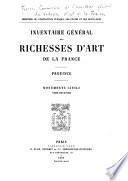 Inventaire général des richesses d'art de la France: Province. Monuments civils (8 v.)