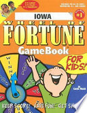 Iowa Wheel of Fortune Game Book for Kids!
