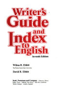 Writer s Guide and Index to English