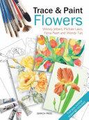 Trace   Paint Flowers