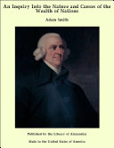 Pdf An Inquiry into the Nature and Causes of the Wealth of Nations Telecharger