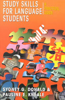 Study Skills for Language Students