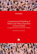 Computational Modelling of Multi-scale Solute Dispersion in Porous Media