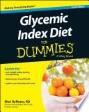 """Glycemic Index Diet For Dummies"" by Meri Reffetto"