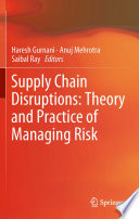 Supply Chain Disruptions Book PDF