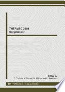 THERMEC 2006 Supplement