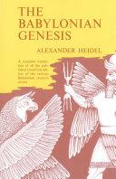 Pdf The Babylonian Genesis