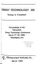 Energy Technology Book