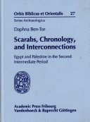 Scarabs, Chronology, and Interconnections