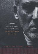 Shared Beginnings, Divergent Lives [Pdf/ePub] eBook