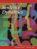 Sentence Dynamics  An English Skills Workbook