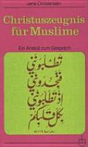Christuszeugnis F  r Muslime