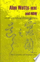 Alan Watts   Here and Now Book