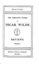 The Complete Works of Oscar Wilde: Reviews