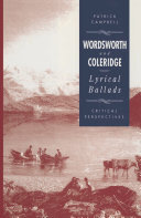 Wordsworth and Coleridge  The Lyrical Ballads