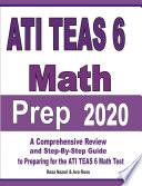 ATI TEAS 6 Math Prep 2020