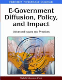 E government Diffusion  Policy  and Impact