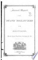 Annual Report of the State Treasurer of Wisconsin