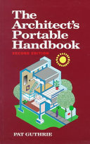 The Architect s Portable Handbook Book