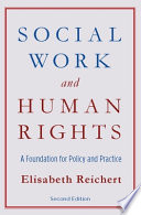 Social Work and Human Rights Book PDF