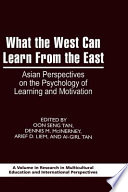 What the West Can Learn From the East