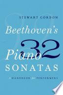 Beethoven s 32 Piano Sonatas
