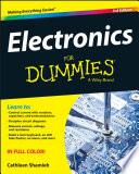 List of Dummies Electronics E-book