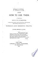 Fruits  and how to Use Them