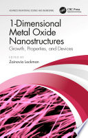 1 Dimensional Metal Oxide Nanostructures Book
