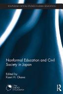 Nonformal Education and Civil Society in Japan [Pdf/ePub] eBook