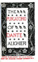 The Purgatorio of Dante Alighieri