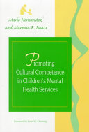 Promoting Cultural Competence in Children s Mental Health Services Book