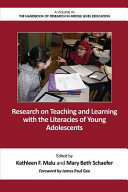 Research on Teaching and Learning with the Literacies of Young Adolescents
