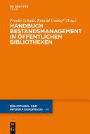 Handbuch Bestandsmanagement in Öffentlichen Bibliotheken [Pdf/ePub] eBook