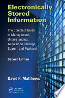 Electronically Stored Information Book