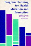 Program Planning for Health Education and Promotion