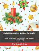 Christmas Color By Number For Adults