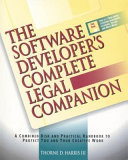 The Software Developer S Complete Legal Companion Book PDF
