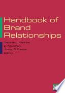 Handbook Of Brand Relationships Book PDF