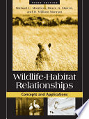 Wildlife Habitat Relationships
