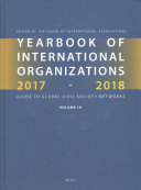 Yearbook Of International Organizations 2017 2018 Volumes 1a And 1b Set
