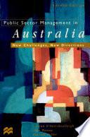 Public Sector Management in Australia