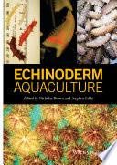Echinoderm Aquaculture Book