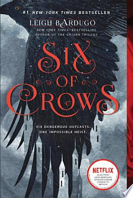 Book cover of 'Six of Crows' by Leigh Bardugo