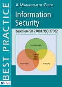 Information Security based on ISO 27001 ISO 27002