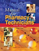 Manual For Pharmacy Technicians Book PDF