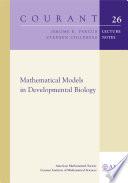 Mathematical Models in Developmental Biology Book