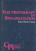 Electrotherapy In Rehabilitation Book