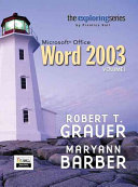 Exploring Microsoft Office Word 2003